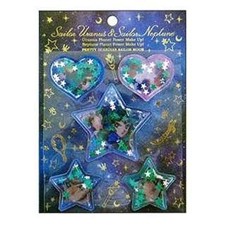 美少女戰士宇宙紀念文具膠囊貼紙-天海