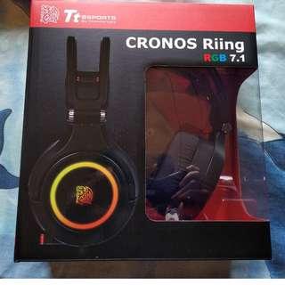 Tt eSPORTS 克諾司 CRONOS Riing RGB 7.1 專業電競耳機