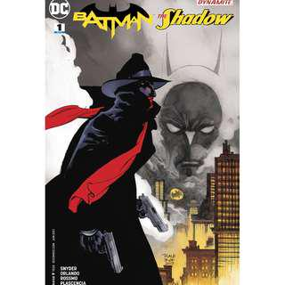Batman/The Shadow #1 - #5 (DC, Superman, Wonder Woman, Green Lantern, Flash, Aquaman)