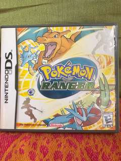Nintendo DS Pokémon Ranger