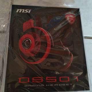 MSI微星 DS501 玩家級線控電競耳麥