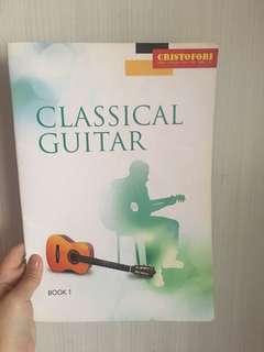 Cristofori Classical Guitar Book 1