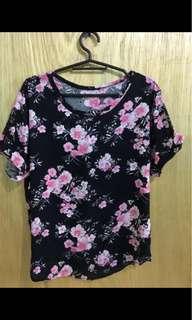 Alyssa Black loose blouse
