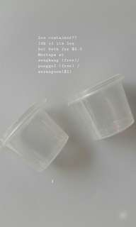 Plastic Container (small)