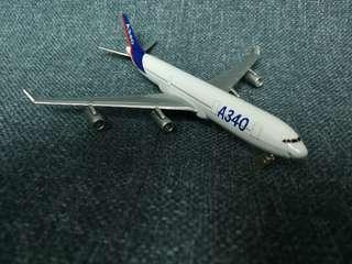A340 飛機模型