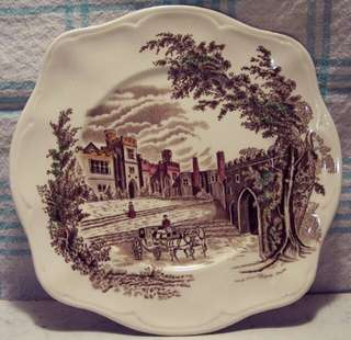 Haddon Hall Dinner Plate By Johnson Bros England