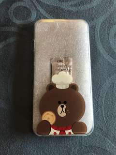 Line casing iphone 7 original