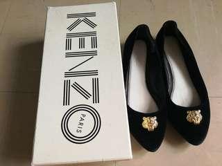 Kenzo 獅子頭 平底鞋 size 36
