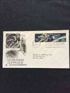 US 1967 Space Accomplishments FDC stamps