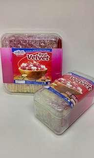 Biskut Lidah Kucing (RED VELVET Flavour)