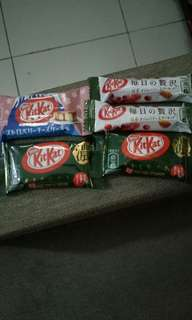 Chocolate kitkat