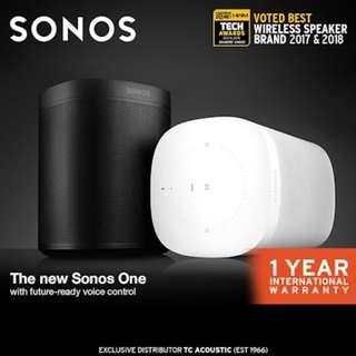 Sonos One - Smart Speaker for Streaming Music