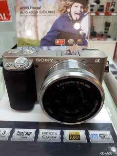 Kamera SONY Alpha 6000 MURAH (Kredit DP O%)