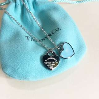 Tiffany Necklace Stainless Silver