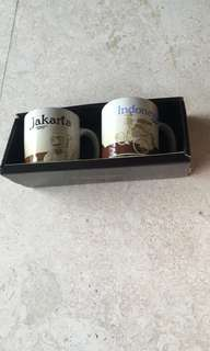 Starbucks mini mugs - Indonesia