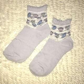 Korean fancy socks