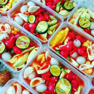 Asinan buah mix fresh