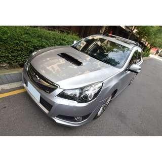 12年 13年式Subaru Legacy 2.5GT 掀背車的傑作 空間動力一次滿足一台文武兼具的旅行車