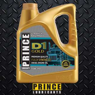 Prince Lubricants D1 Gold 10W40 (Diesel) 7L