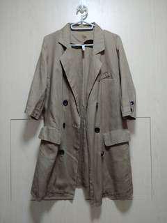 韓國麻棉外套
