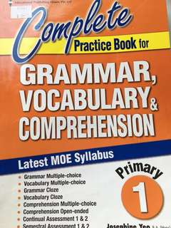 P1 complete english assessment book