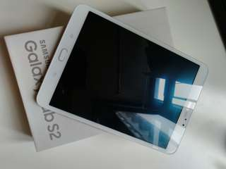 99%new Galaxy Tab S2 white