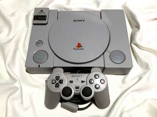Ps1 playstation 1 fat phat 110v Modified
