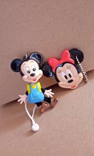 Gantungan dam kaca Mickey
