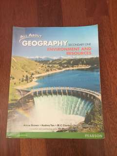 Geography Textbook Secondary 1