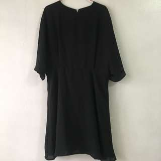 Zalora black dress