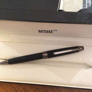 Montblanc limited edition ultra black ball pen