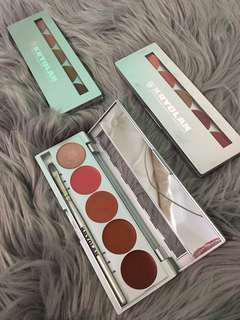 Kryolan lipstick palette