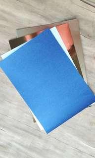 DUAL Antarctic Blue & Snow White Cards 100S