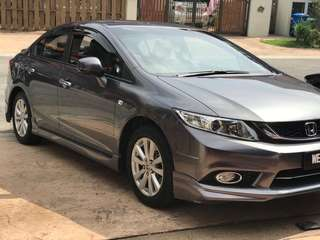 2015 Honda Civic 1.8L (A) FB Modulo Bodykits