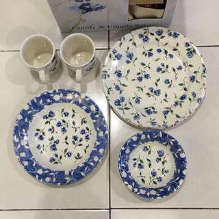 Claytan Plates, Mugs and Bowls