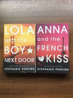 Lola And The Boy Next Door & Anna And The French Kiss by Stephanie Perkins