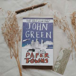 Paper Towns by John Green (English/Novel Impor Inggris)