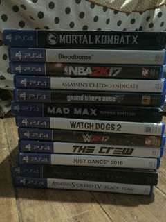 Ps4 CD Games