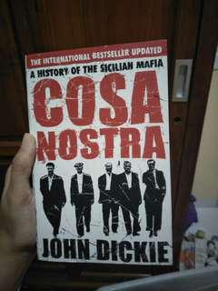 Cosa Nostra by John Dickie (english edition)