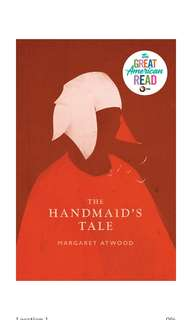 🚚 [E-BOOK/AUDIOBOOK]  The Handmaid's Tale By Margaret Atwood