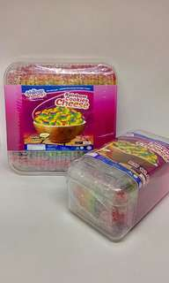Biskut Lidah Kucing (RAINBOW CHEESE Flavour)