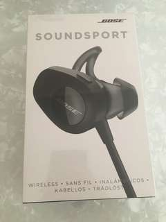 Brand new BOSE bluetooth soundsport