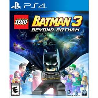 [NEW NOT USED]  PS4 LEGO BATMAN 3: BEYOND GOTHAM Warner Home Video Games Action