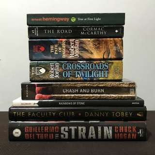 Fiction Books Bundle A (Fantasy, Classics, Poetry, Horror, Thriller, etc.)