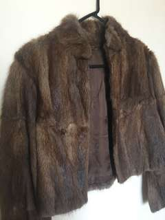 Authentic Vintage Fur Jacket