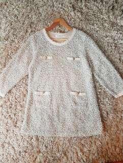 Elegant but Chill Sweater Dress