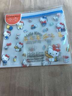 Hello Kitty Ziplock Bags