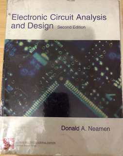 ECE Books Series: Electronic Circuit Analysis and Design