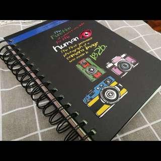 Rainbow Colour Notebook