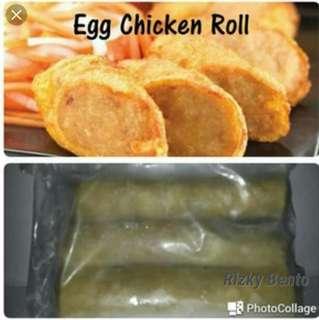 Eeg chicken roll